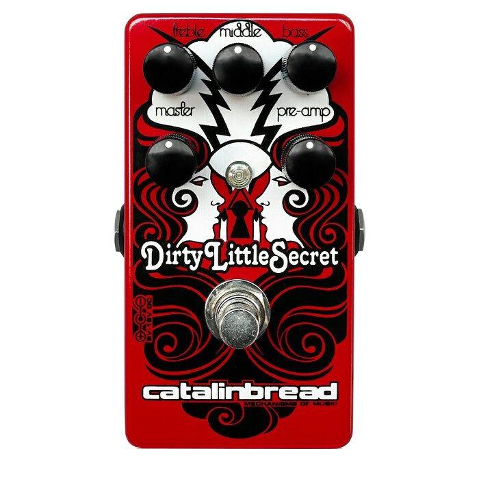 Catalinbread カタリンブレッド / Dirty Little Secret Red【オーバードライブ】【ディストーション】【ファインチューン】