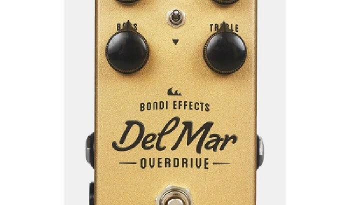 Bondi Effects ボンダイエフェクト / Del Mar Overdrive 完全限定生産 リマスター版【オーバードライブ】【ギター エフェクター】