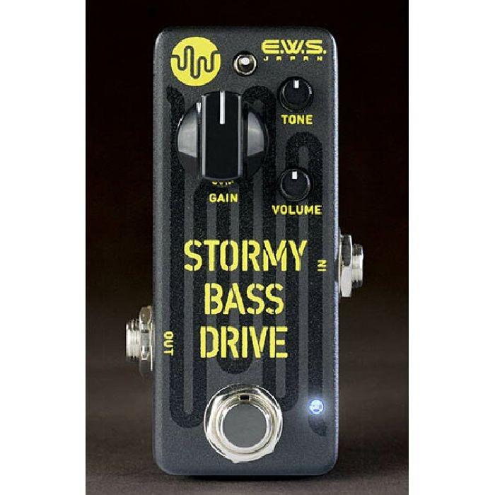 E.W.S. イーダブリューエス / Stormy Bass Drive【ベース用オーバードライブ】