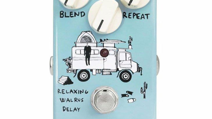 Animals Pedal アニマルズペダル / Relaxing Walrus Delay【ディレイ】