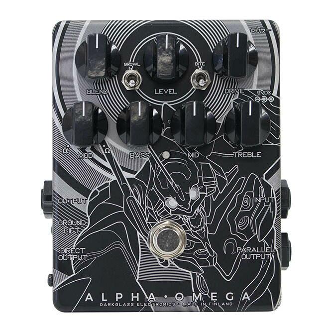 Darkglass Electronics ダークグラスエレクトロニクス / ALPHA OMEGA Japan Limited EVA 初号機 ver【オーバードライブ】