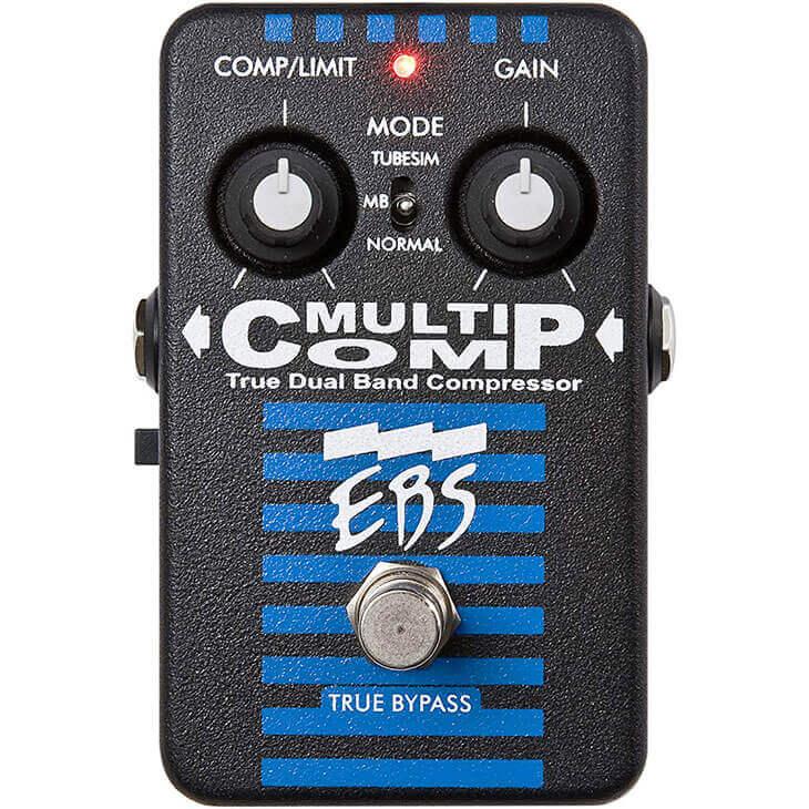 EBS イービーエス / Multi Comp 【コンプレッサー】【ベース用エフェクター】