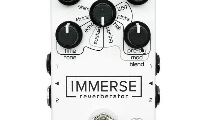 Neunaber Audio Effects ヌーネイバーオーディオエフェクツ / Immerse Reverberator MkII WhiteOut【ギター リバーブ】