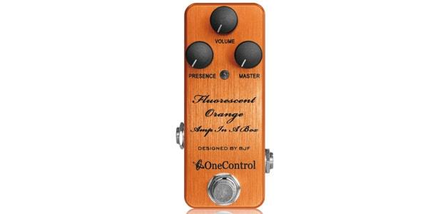 One Control ワンコントロール / Fluorescent Orange Amp In A Box【オーバードライブ/ディストーション】