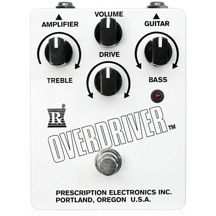 Prescription Electronics プリスクリプションエレクトロニクス / RX Overdriver【オーバードライブ】