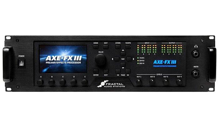Fractal Audio Systems フラクタルオーディオシステムズ / Axe-Fx III【ギター用マルチエフェクター】