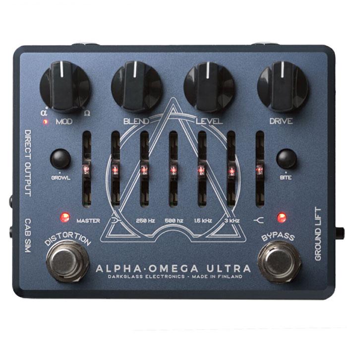 Darkglass Electronics ダークグラスエレクトロニクス / ALPHA OMEGA ULTRA 【ベース プリアンプ】