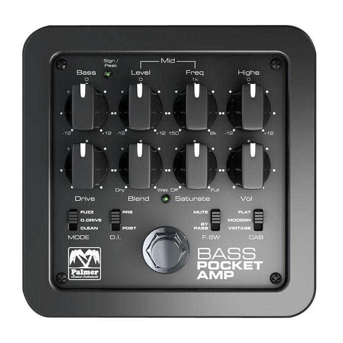 PALMER パルマー / POCKET AMP BASS【ベースプリアンプ】