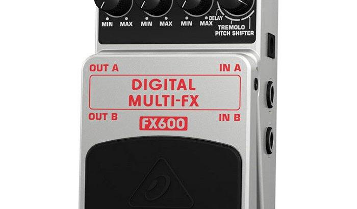 BEHRINGER べリンガー / DIGITAL MULTI-FX FX600【ギター マルチエフェクター】