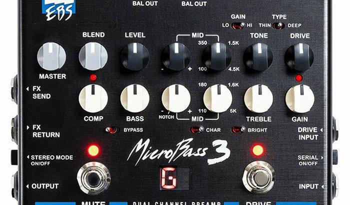 EBS イービーエス / MicroBass 3【ベース プリアンプ】