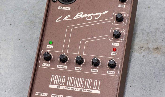 L.R.Baggs エルアールバックス / PARA ACOUSTIC D.I.【ギター エフェクター】