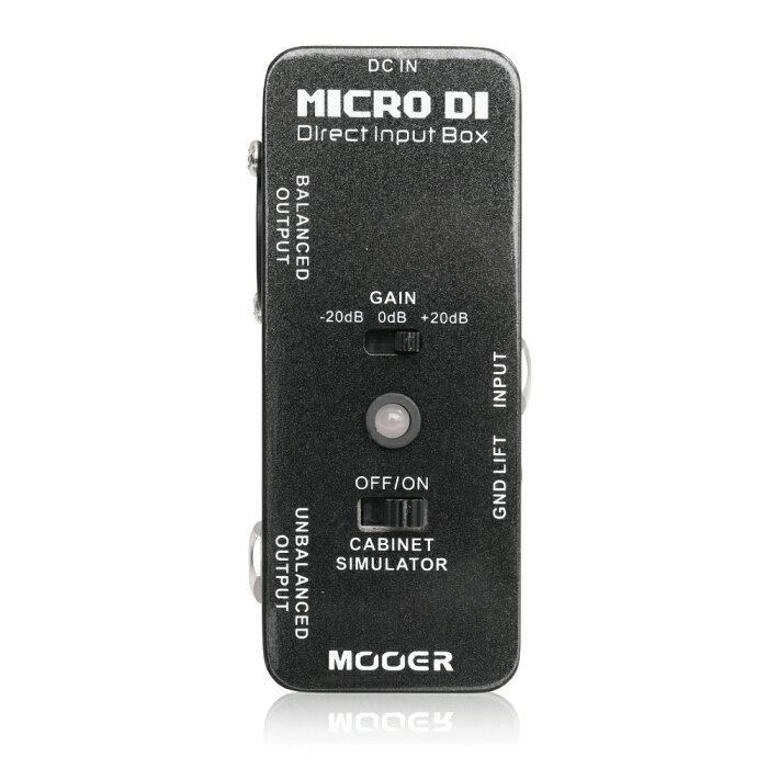 MOOER ムーアー / Micro DI【ダイレクトボックス】