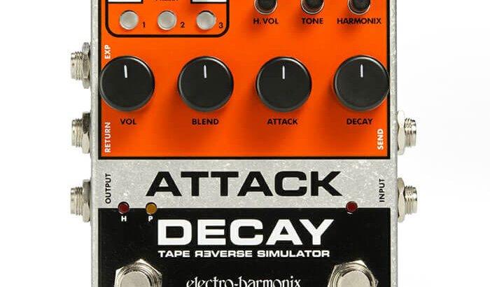 Electro Harmonix エレクトロハーモニクス / Attack Decay Tape Reverse Simulator【シミュレーター系エフェクター】