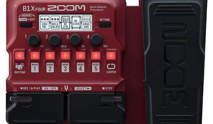 ZOOM ズーム / B1X FOUR Multi-Effects Processor【ベース用マルチエフェクター】