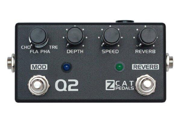 ZCAT Pedals ジーキャットペダル / Q-MOD2【空間系・モジュレーション系マルチエフェクター】