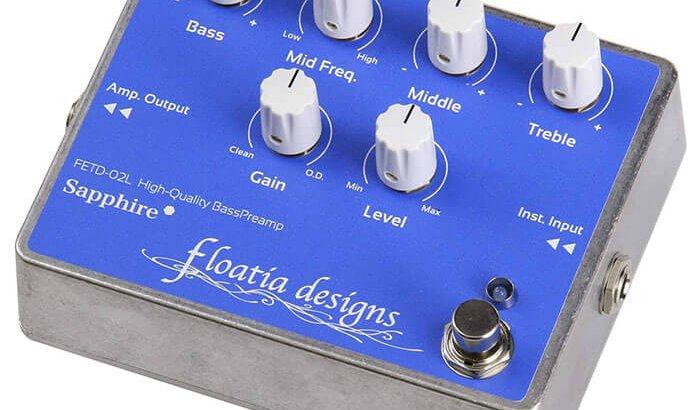 Floatia Designs フローティア・デザインズ / FETD-02L Sapphire Bass Preamp【ベース プリアンプ】