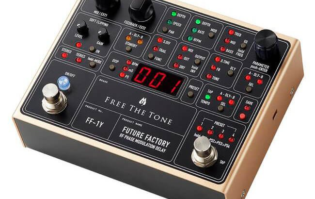 Free The Tone フリーザトーン / FUTURE FACTORY FF-1Y RF PHASE MODULATION DELAY【ディレイ】