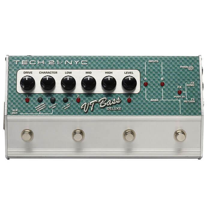 TECH21 テック21 / Sansamp VT Bass DELUXE【ベース用アンプシミュレーター DI】