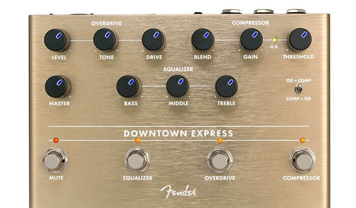 FENDER フェンダー / DOWNTOWN EXPRESS BASS MULTI-EFFECT【ベース マルチエフェクター】