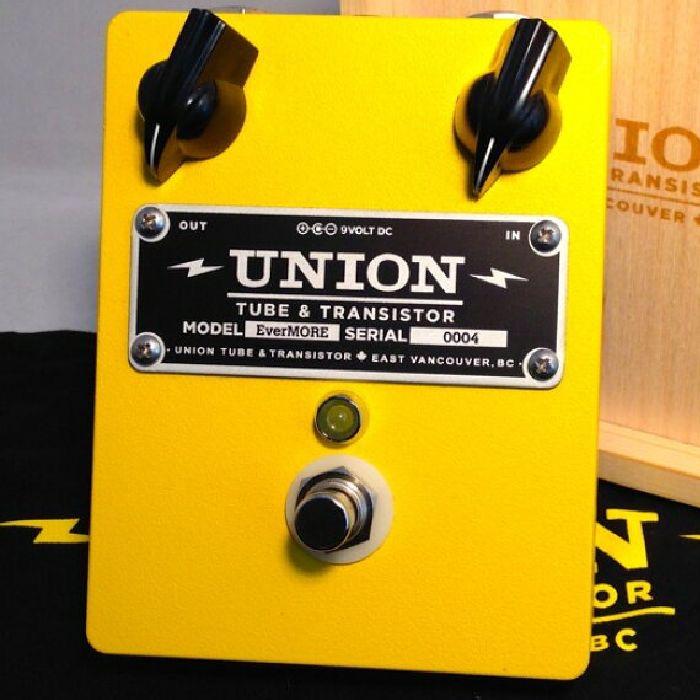 Union Tube & Transistor Ever MORE【プリアンプ】【クリーンブースター】