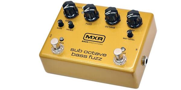 MXR エムエックスアール / M287 Sub Octave Bass Fuzz【ベース用ファズ】