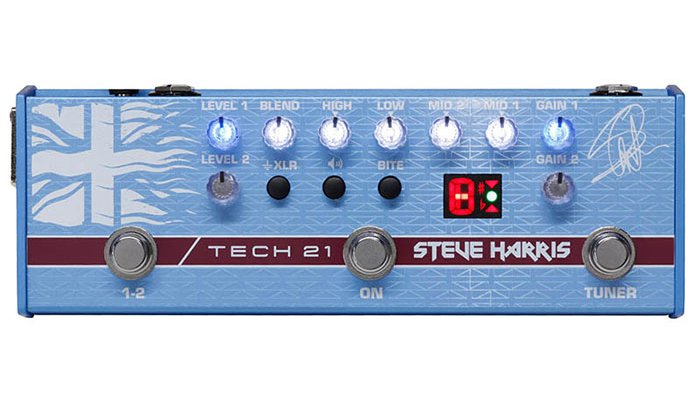 TECH21 テック21 / SH1 SansAmp Steve Harris Signature Model【ベース用プリアンプ】