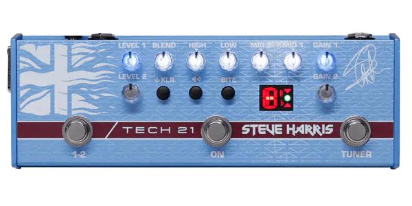 TECH21 テック21 / SH1 SansAmp Steve Harris Signature Model【ベース用プリアンプ】