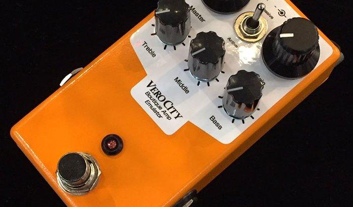 VeroCity Effects Pedals ベロシティーエフェクトペダル / OR-BASS【ベースプリアンプエミュレーター】
