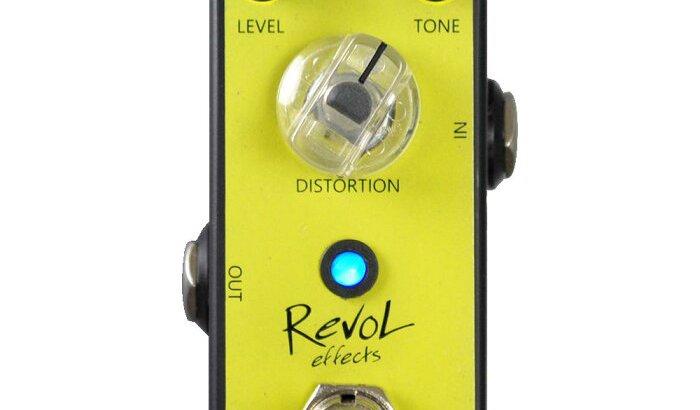 RevoL effects レヴォル エフェクツ / EDS-02 SUNFLOWER DISTORTION【ディストーション】