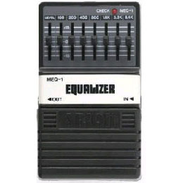 ARION アリオン / MEQ-1 7-BAND EQUALIZER【7バンドイコライザー】
