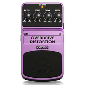 BEHRINGER べリンガー / OD300 OVERDRIVE DISTORTION【ディストーション】