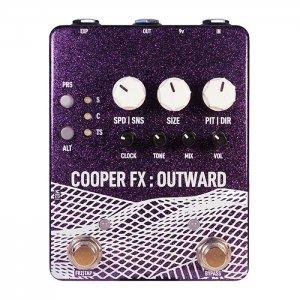 COOPER FX クーパー / OUTWARD V2【ディレイ/グラニュラー/グリッチ】