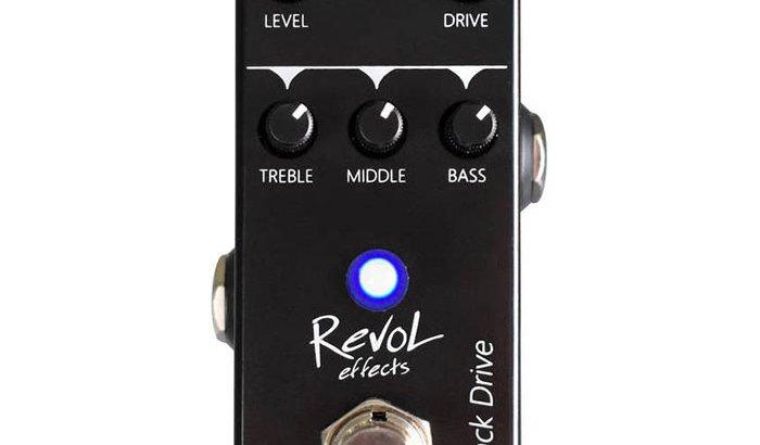 RevoL effects レヴォル エフェクツ / EFD-01 Black Drive【オーバードライブ】