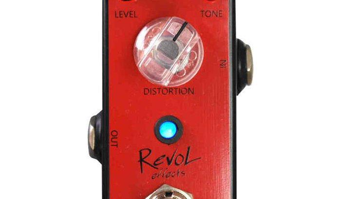 RevoL effects レヴォル エフェクツ / EMD-01 METAL INSANITY DISTORTION【ディストーション】