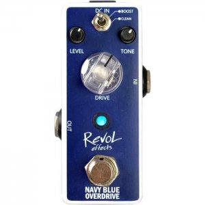 RevoL effects レヴォル エフェクツ / EOD-01 NAVY BLUE OVERDRIVE【オーバードライブ】