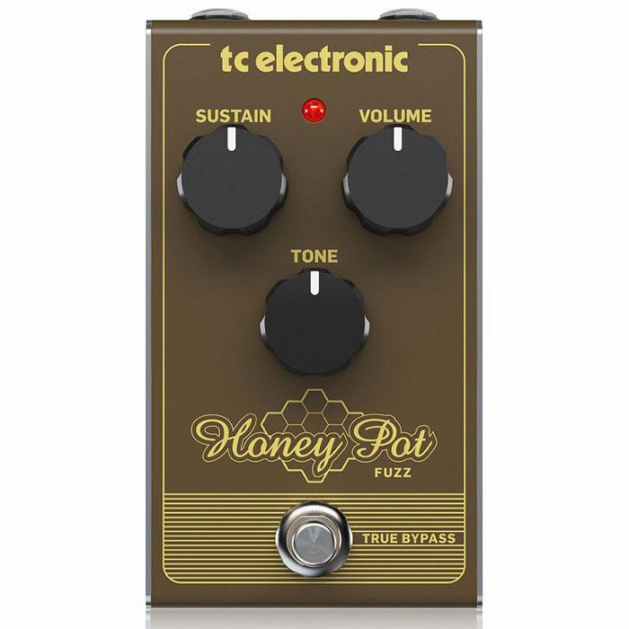 tc electronic ティーシーエレクトロニック / HONEY POT FUZZ【ファズ】