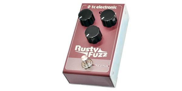 tc electronic ティーシーエレクトロニック / Rusty Fuzz【ファズ】