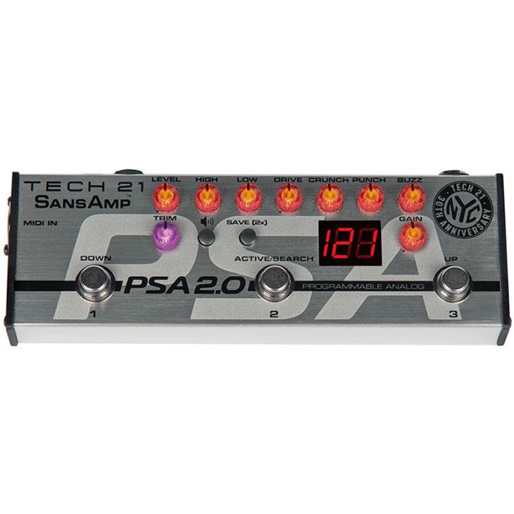 TECH21 テック21 / SANS AMP PSA-2.0【ギター・ベース用プリアンプ】