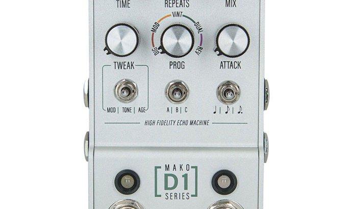 Walrus Audio ウォルラスオーディオ / MAKO Series D1(High-Fidelity Stereo Delay)【ディレイ】