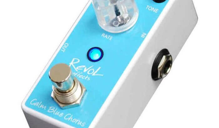 RevoL effects レヴォル エフェクツ / ECO-01 Calm Blue Chorus【コーラス】