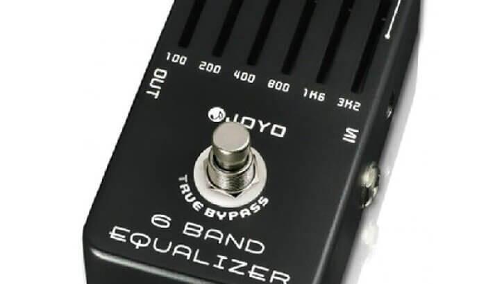 JOYO ジョーヨー /  JF-11 6 Band EQ Equalizer【イコライザー】