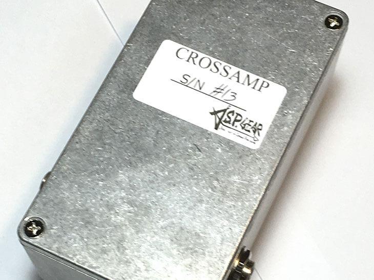 A.S.P.GEAR エーエスピーギア / CROSSAMP【ベースプリアンプ】