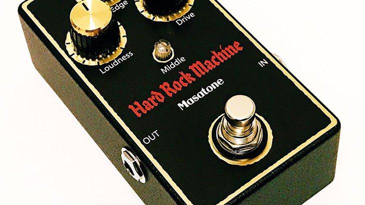 Masatone マサトーン / Hard Rock Machine Black【ディストーション】