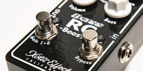 Xotic エキゾチック / Bass RC-Booster V2【ベース用ブースター】