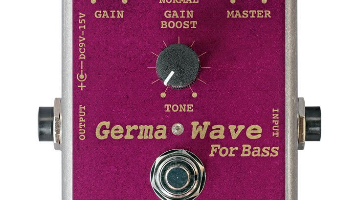 ALBIT アルビット / GW-1B GERMANIUM DIODE BOOSTER FOR BASS【ベース用ブースター】