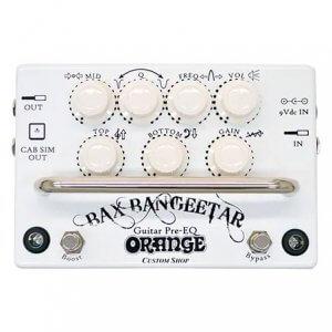 Orange オレンジ / Bax Bangeetar Guitar Pre-EQ バックス・バンジーター WHITE/ホワイト【プリアンプ】