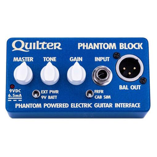 Quilter クイルター / Phantom Block【ギター用インターフェイス】【ダイレクトボックス】