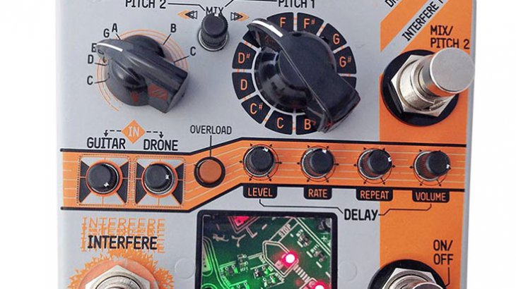 Rainger FX レインジャーエフエックス / Drone Rainger [Digital Delay + Analog Drone]【デジタルディレイ+アナログドローン】
