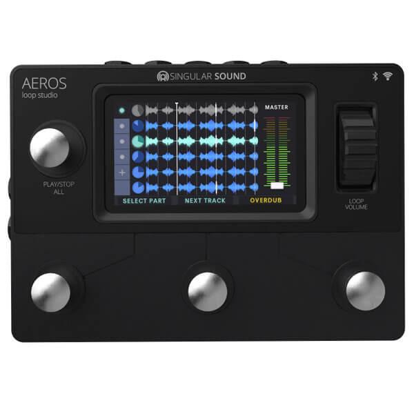 Singular Sound シングラーサウンド / AEROS Loops Studio【ルーパー】