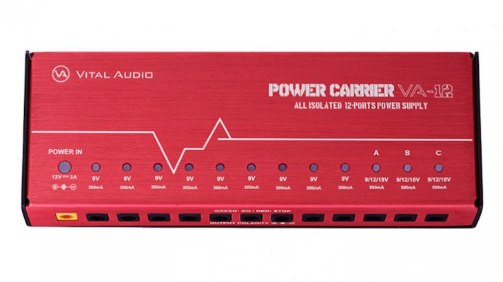 Vital Audio バイタルオーディオ / POWER CARRIER VA-12【パワーサプライ】